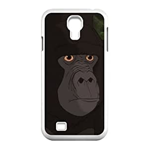 Samsung Galaxy S4 9500 Cell Phone Case White Disney Tarzan Character Kerchak Ejjvd