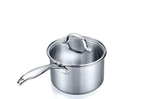 stainless steel 3 quart saucepan
