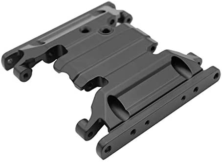 LCX Racing 1/10th RC Crawler Car Aluminum Center Skid Plate Transmission Mount for Axial SCX10 II 90046