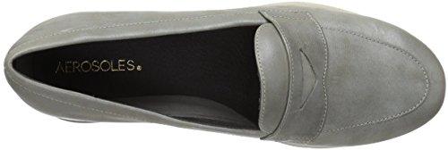 Aerosoles Mujer Metallic Loafer Topo Taupe Gris para Metálico rFrxnpq