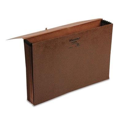 Pendaflex 5-Inch Expansion Standard Wallet, Red Fiber, Legal (1076GL-OX)