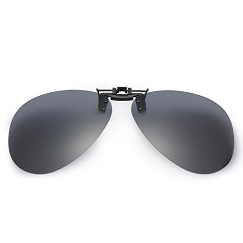 Conduite Lunettes Miroir Clip Myopia Ultralight Noir de de HT de BEI Soleil Polarized T17waa