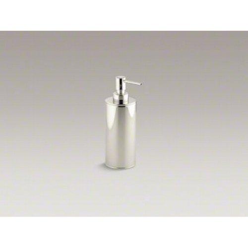 Kohler K-14379-SN Purist Countertop Soap Dispenser, Vibrant Polished (Polished Nickel Soap)