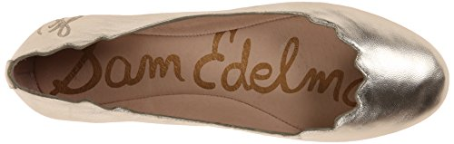 Sam Edelman Womens Augusta Light Gold Flat 8 M mgo6Dg81I8