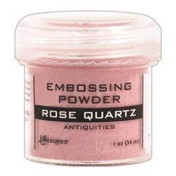 Bulk Buy: Ranger Inks (3-Pack) Embossing Powder 1oz Jar Rose Quartz EPJ-37521 - Embossing Powder 1 Oz Jar