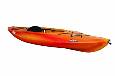 Pelican Freedom 100 Fade Red/Yellow Kayak