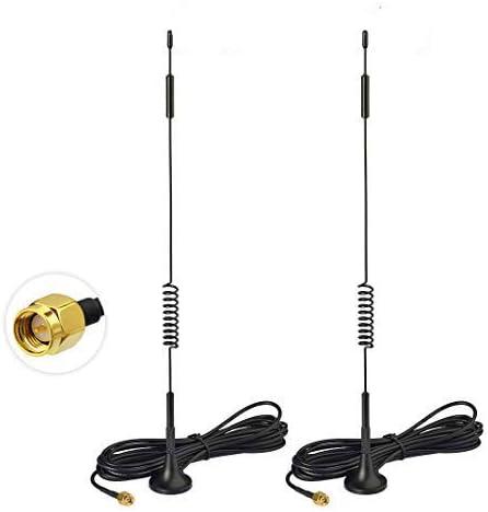 Bingfu 4g Lte Antenna 7dbi Magnetic Base Mimo Sma Plug Computers Accessories