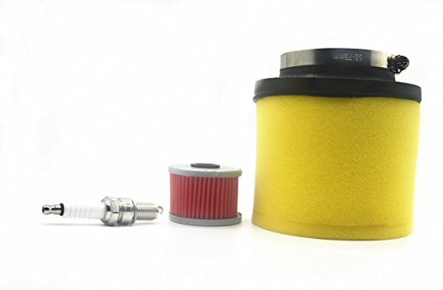 Carbman Air Filter & Oil Filter Tune-up Honda Foreman 400 450 TRX400 TRX450 FourTrax Foreman 400 TRX400 Rancher 350 TRX350 ATV 17254-HN5-670
