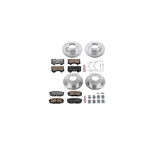 - Power Stop K2813-36 Z36 Truck & Tow Front and Rear Brake Kit