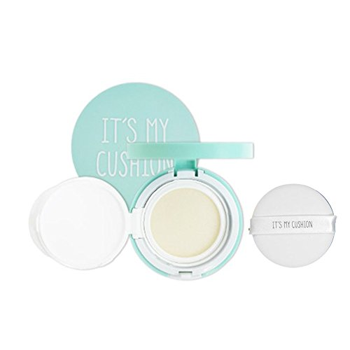 Its My Cushion Case DIY BB Cushion Pact cosmetic Case with Sponge, internal case, Make your own cosmetic case (Cushion Case (Mint))
