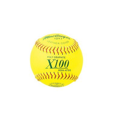 """MacGregor 12"""" ASA Fast Pitch Softball - 12"""" only"""