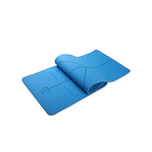 Esterillas de Yoga TPE de 6 mm, Antideslizantes, ecológicas ...