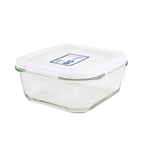 MINISO Square High Borosilicate Glass Food Container 310ml Price & Reviews