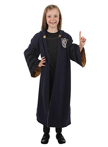 elope Fantastic Beasts: The Crimes of Grindelwald Hufflepuff Kids Robe One Size Blue]()