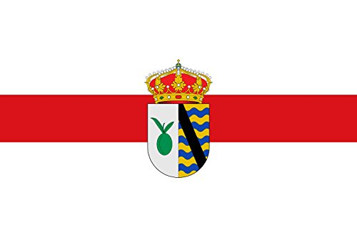 magFlags Bandera Large Municipio de Oliva de Plasencia Extremadura | Bandera Paisaje | 1.35m² | 90x150cm