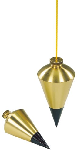 Stanley 47-973 8-Ounce Brass Plumb Bob