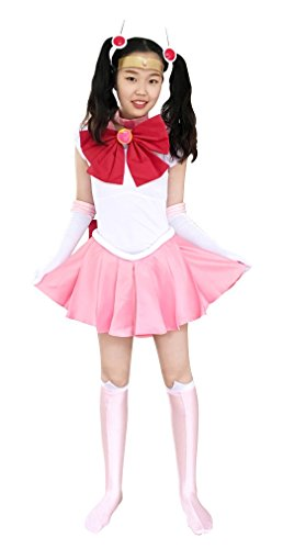 [Dazcos Child Sailor Moon Chibi Usa Small Kids Cosplay Costume (Child M)] (Costumes Usa)