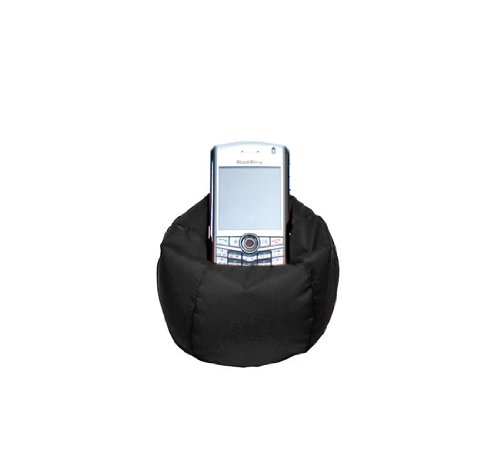 Lug Beanie Chair Cell/IPod Holder, Midnight Black
