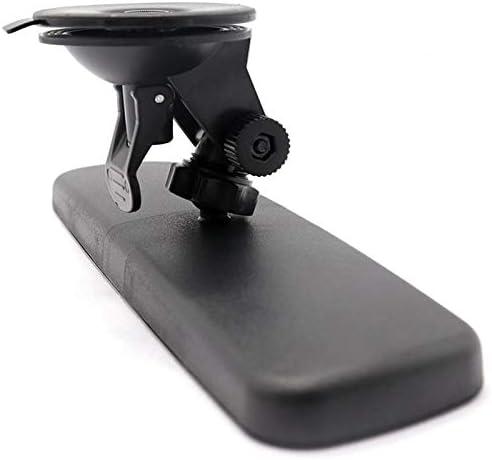 Jackallo R/étroviseur int/érieur de Voiture r/étroviseur Universel Noir pour Camion de Voiture avec r/étroviseur /à Ventouse