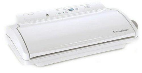 - FoodSaver V2440 Advanced Design Vacuum-Packaging System, White