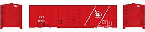 - Athearn HO 40' Box Car Single Door CNJ #20551