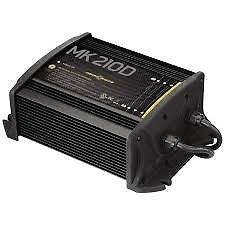MinnKota MK 210D On-Board Battery Charger (2 Banks, 5 amps per bank) by Minn Kota