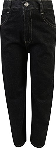 Quad Seven Little Boy's 3-Piece Short Sleeve Woven Shirt, Tee, and Denim Pant Set, Charcoal/Black, Size 7' by Quad Seven (Image #3)