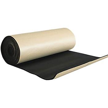 Luixxuer 6mm 236mil Heat Shield Thermal Sound Insulation Proofing Deadener Mat Car Noise Control Acoustic Dampening Moistureproof Waterproof Mat