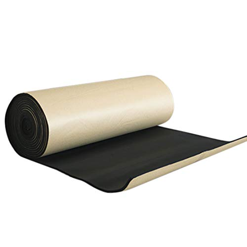 (uxcell 315mil 6.46sqft Car Cell Foam 8mm Sound Proofing Insulation Deadener Mat 40