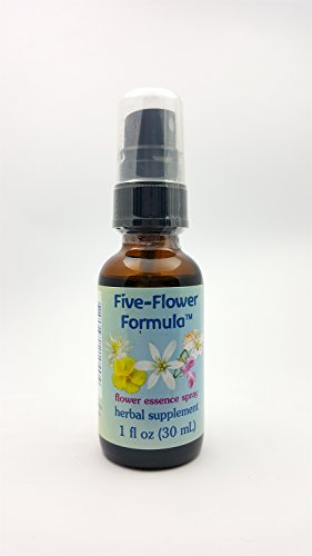 Flower Essence Services (FES) Five Flower Formula Spray - Five Flower Formula Spray