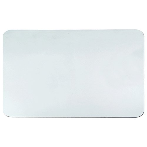 Artistic 24'' x 38'' Krystal View Clear Antimicrobial Desk Pad Organizer with Microban, Clear by Artistic