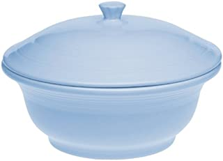 product image for Fiesta Periwinkle 495 70-Ounce Casserole with Lid