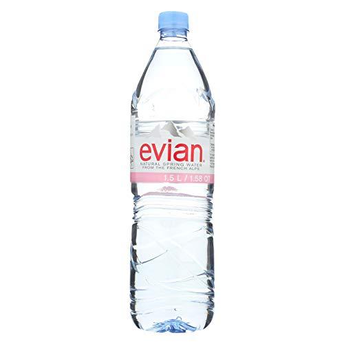 (Evian Natural Spring Water 1.5 Liter Bottle (Pack of 6))