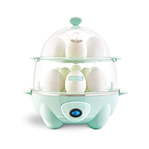 Dash-DEC012AQ-Deluxe-Rapid-Egg-Cooker-Electric-12-Capacity-for-Hard-Boiled-Poached-Scrambled-Omelets-Steamed-Vegetables-Seafood-Dumplings-More-with-Auto-Shut-Off-Feature-Aqua
