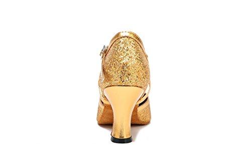 Miyoopark - salón mujer Gold-7cm Heel