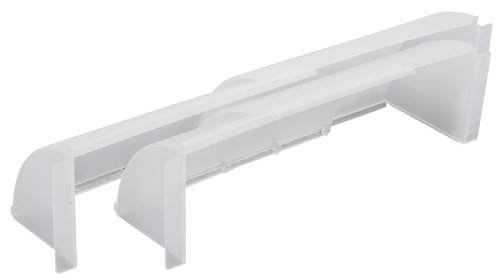 Imperial Wings - Imperial Adjustable Air Deflector for Floor Register, 2-Pack, VT0096