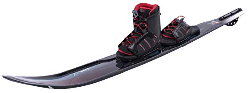 HO Sports 2019 Carbon Omni Water Skis 67 Inches with Xmax Boot Black Art 7-11 (Best At Ski Boots 2019)