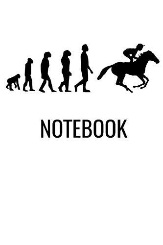 Notebook: Horse Racing Book Notepad Notebook Composition and Journal Gratitude Diary por Retrosun Designs