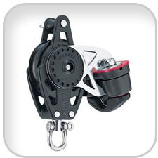 Harken 40 mm Carbo Block w/ Cam and Becket