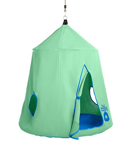 HearthSong Go! Hugglepod Hangout Portable Hanging Tree Tent - Mint Green from HearthSong