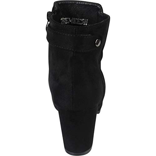 Bottines Noir Zip Chaussures Et Chunky Bemeesh Talon Femme Pxw1fPqZ