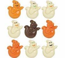 Wilton Halloween Spooky Ghosts Candy (Wilton Halloween Lollipop Molds)