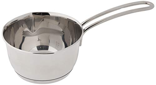 Kuchenprofi Stainless Steel Saucepan with Clad Bottom, 16-Ounce