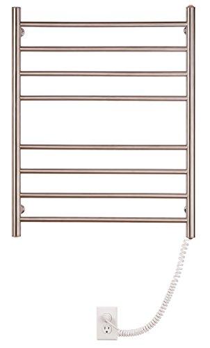 Myson WPRL08 8-Bar Wall Mount Towel Warmer, Bright Finish, Pearl by Myson