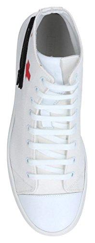 Marc Jacobs Hommes Toile Zip Visage Mode Sneaker (41 Eu / 8 Us / 7 Uk)