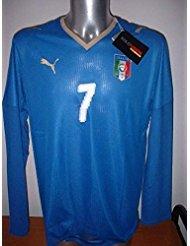 Adidas Italia – Italia de Manga 7 del Piero Jugador Spec Camiseta Puma XL fútbol Jersey