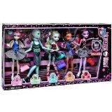 Monster High Dance Class 5 Pack - Rochelle Goyle, Gil Webber, Robecca Steam, Lagoona Blue, and Operetta