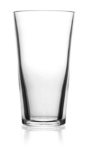 - symGLASS 16-Ounce Unbreakable Pint Glass, Set of 4