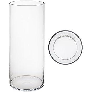 Amazon Mega Vases 6 X 16 Cylinder Glass Vase Set Of 1