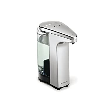 simplehuman 8 oz. Sensor Pump with Soap Sample, Brushed Nickel